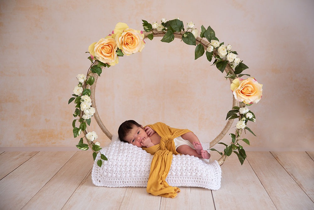 newborn photography decoration
