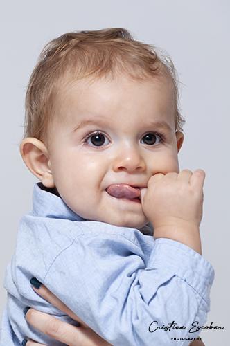 portrait enfant 12 mois