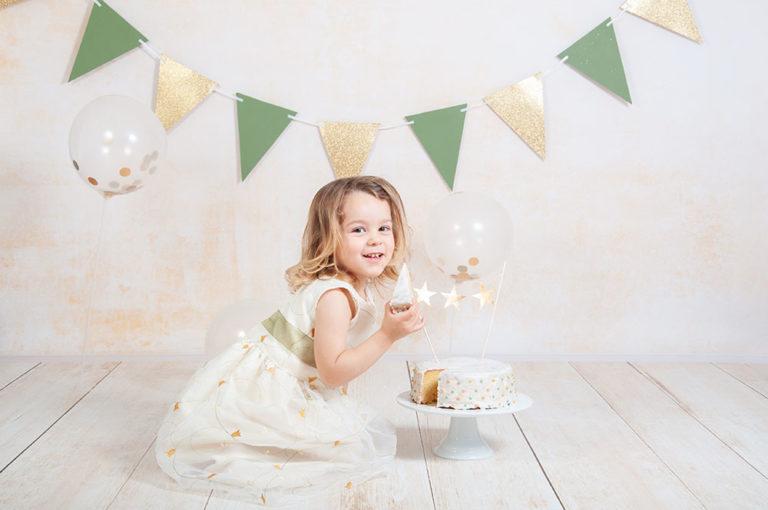 smash the cake shooting photo