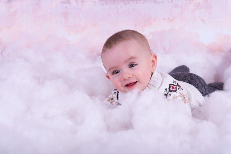 Bébé coton Noël